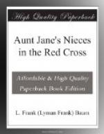 Aunt Jane's Nieces in the Red Cross by L. Frank Baum