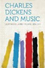Charles Dickens and Music by