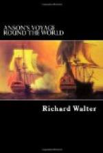 Anson's Voyage Round the World by