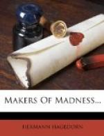 Makers of Madness by Hermann Hagedorn