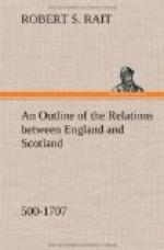 An Outline of the Relations between England and Scotland (500-1707) by