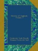 The History of England by Thomas Frederick Tout