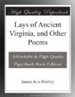 Lays of Ancient Virginia, and Other Poems by