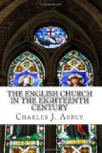 The English Church in the Eighteenth Century by