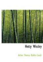 Hetty Wesley by Arthur Quiller-Couch
