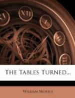 The Tables Turned by William Morris