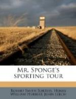 Mr. Sponge's Sporting Tour by Robert Smith Surtees