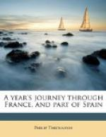 A Year's Journey through France and Part of Spain, Volume II (of 2) by Philip Thicknesse
