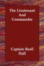 The Lieutenant and Commander by Basil Hall