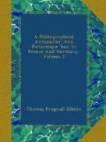 A Bibliographical, Antiquarian and Picturesque Tour in France and Germany, Volume Two by Thomas Frognall Dibdin