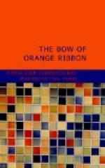 The Bow of Orange Ribbon by Amelia Edith Huddleston Barr