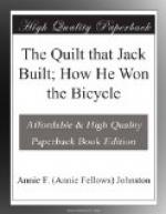 The Quilt that Jack Built; How He Won the Bicycle by