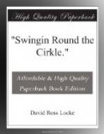"""Swingin Round the Cirkle."" by David Ross Locke"