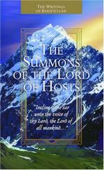 The Summons of the Lord of Hosts by Bahá'u'lláh