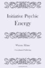 Initiative Psychic Energy by