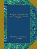 Kinship Organisations and Group Marriage in Australia by