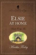 Elsie at Home by
