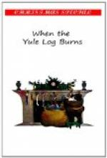 When the Yule Log Burns by