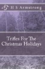 Trifles for the Christmas Holidays by