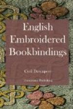 English Embroidered Bookbindings by