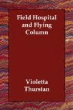 Field Hospital and Flying Column by