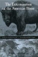 The Extermination of the American Bison by William Temple Hornaday