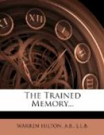 The Trained Memory by