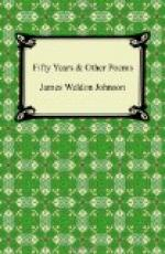 Fifty years & Other Poems by James Weldon Johnson