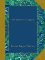 The Visions of England by Francis Turner Palgrave