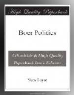 Boer Politics by Yves Guyot