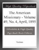 The American Missionary, Volume 49, No. 4, April, 1895 by