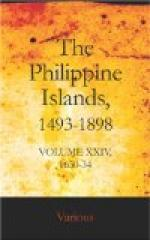 The Philippine Islands, 1493-1898, Volume XXIV, 1630-34 by