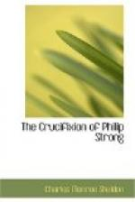 The Crucifixion of Philip Strong by Charles Sheldon