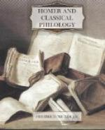 Homer and Classical Philology by Friedrich Nietzsche