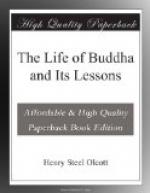 The Life of Buddha and Its Lessons by Henry Steel Olcott