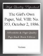 The Girl's Own Paper, Vol. VIII: No. 353, October 2, 1886. by