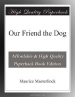 Our Friend the Dog by Maurice Maeterlinck