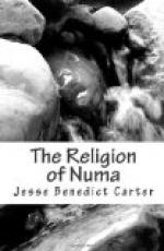 The Religion of Numa by