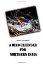 A Bird Calendar for Northern India by