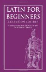Latin for Beginners by