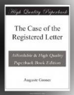 The Case of the Registered Letter by