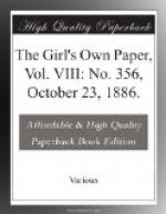 The Girl's Own Paper, Vol. VIII: No. 356, October 23, 1886. by