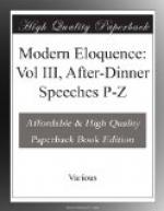Modern Eloquence: Vol III, After-Dinner Speeches P-Z by