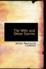 The Wife, and other stories by Anton Chekhov