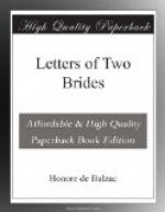 Letters of Two Brides by Honoré de Balzac