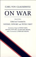 On War — Volume 1 by Carl von Clausewitz