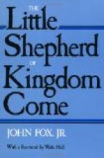 The Little Shepherd of Kingdom Come by John Fox, Jr.