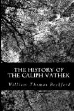 The History of Caliph Vathek by William Thomas Beckford