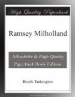 Ramsey Milholland by Booth Tarkington