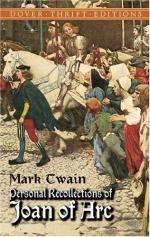 Personal Recollections of Joan of Arc — Volume 1 by Mark Twain